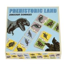 Dino domino - Prehistoric land dominoes
