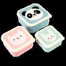 Assortiment snackdoosjes miko and friends - Set of 3 snack boxes miko and friends