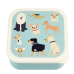 Assortiment snackdoosjes hondjes - Set of 3 snack boxes best of show