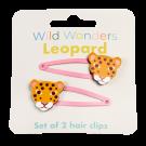 Set van 2 haarspeldjes met luipaard - Wild wonders leopard hair clips