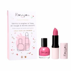 Setje nagellak + lippenstift - Rubis