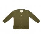 Olijfkleurig gebreide cardigan - Knit cardigan olive