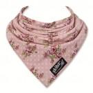 Oud roze zeverslabje Skibz met bloemetjes (Geboortelijst Anouk B.)
