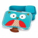Brooddoos met uilensnoetje - Zoo lunch kit owl