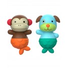 Mix en match flippers monkey/ dog