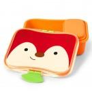 Brooddoos met vossensnoetje - Zoo lunch kit fox