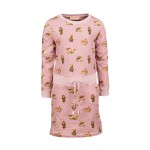 Oud roze kleedje met konijntjes -milou light pink