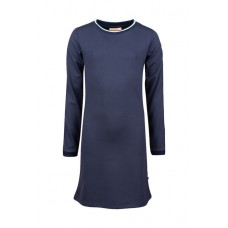 Blauw sportief kleed - Pink dark blue