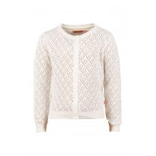 Witte cardigan - Plus ecru