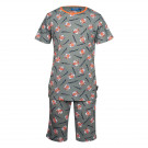 Kaki pyjama met tijgers - Nighty light khaki
