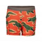 Oranje zwemshort met krokodillen - Aloho orange  (stapelkorting)