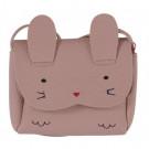 Oud roos tasje konijn - Bunny light pink