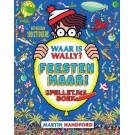 Waar is Wally spelletjesboek - Feesten maar!