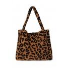 Teddy leopard brown mom-bag - Limited edition