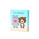 Tandenboekje - Nijlpaard en beer