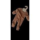 Bruingrijs kruippakje - Cappucino
