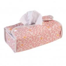 Hoes voor zakdoekdoos + doos pebble pink