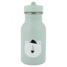 Muntgroene drinkbus met ijsbeer 350ml - Mr. polar bear [backtoschool]