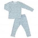 Tweedelige pyjama blue meadow - maat 98 - 3 jaar  (Geboortelijst Lou B.)