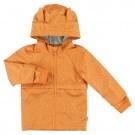 Roestkleurige regenjas met streepjes - Raincoat Mr.fox