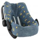 Beschermhoes autostoel met otters - pebble(plus)/rock