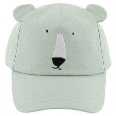 Muntgroene pet met ijsbeer - Mr. Polar Bear