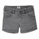 Zwartgrijs jeansshortje - denim warrah