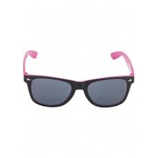 Zwart met roze kinderzonnebril - nitsunglasses black pink