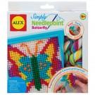 Creapakket: naai je eigen vlinderschilderij
