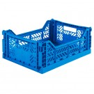 Kratje blue midi - folding crate