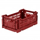 Kratje tile red small - folding crate