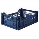 Kratje navy midi - folding crate