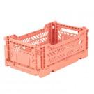 Kratje salmon small- folding crate
