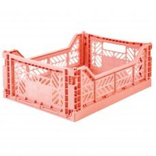 Kratje salmon midi - folding crate
