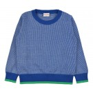 Pullover knitwear tricolor