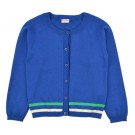 Cardigan knitwear blue