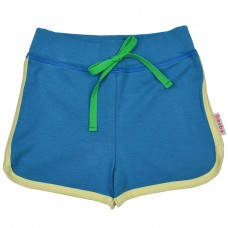 Blauw shortje - Short fainece punto di roma (stapelkorting)