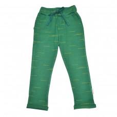 Donkergroene broek - Baggy pant strokes punto di roma