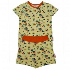 Pyjama met bloemetjes - Pyjama short flower field (stapelkorting)