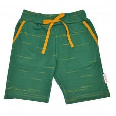 Groene bermuda short - Pant short strokes punto di roma