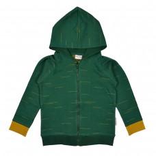 Donkergroene hoodie - Hoodie strokes punti di roma