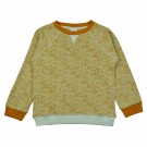 Muntgroene sweater met vlekjes - Sweater dots green
