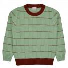 Muntgroene sweater - alew pullover