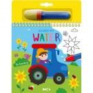Kleuren met water - de boerderij (Wenslijst Vince V.L.)