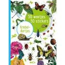50 weetjes -50 stickers - kriebeldiertjes