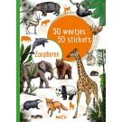 50 weetjes- 50 stickerboek - zoogdieren