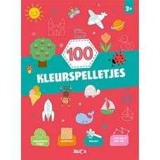100 kleurspelletjes 3+
