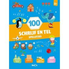 100 schrijf- en telspelletjes 5+