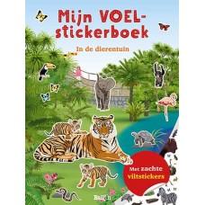 Mijn voelstickerboek - in de dierentuin