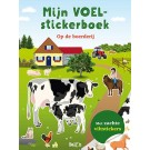Mijn voelstickerboek - op de boerderij